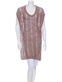 J Brand Greta Knit Tunic w/...