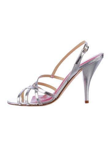 Kate Spade Metallic Sandals