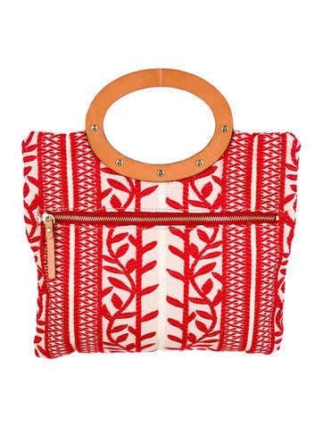 Kate Spade Embroidered Handle Bag