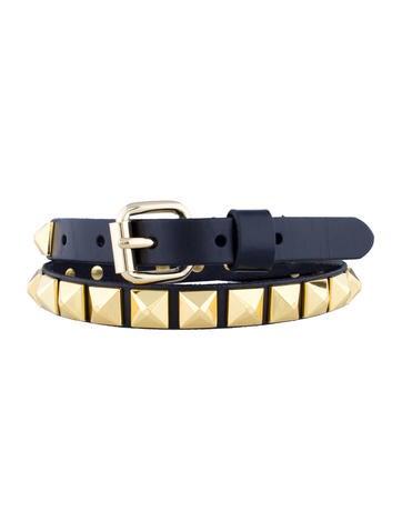 Linea Pelle Studded Belt