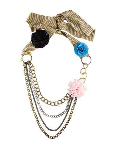 M Missoni Necklace w/Tags