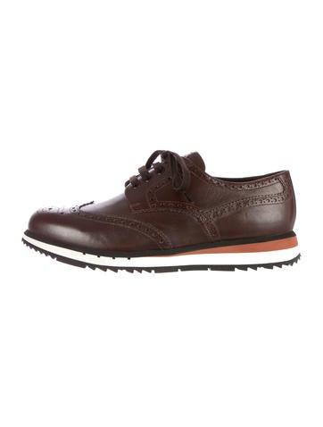 Prada Sport Brogue Sneakers