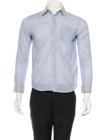 Rag & Bone Striped Button-Up Shirt