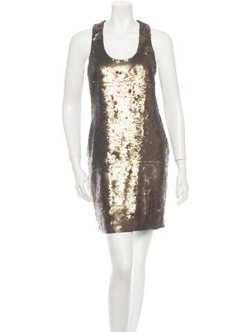 Robert Rodriguez Sequin Dress