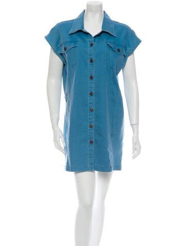Surface to Air Denim Dress