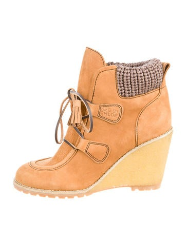 See by Chloé Wedge Boots