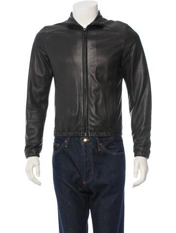 Simon Spurr Leather Jacket