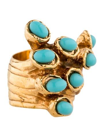 Yves Saint Laurent Arty Dots Ring