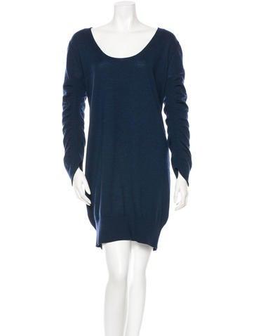 Zero + Maria Cornejo Wool Sweater Dress