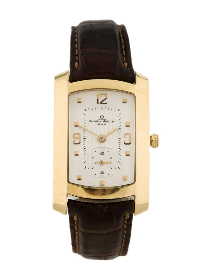 Baume & Mercier Hampton Millies 18K Gold Watch - Jewelry - 0BM10005 | The RealReal
