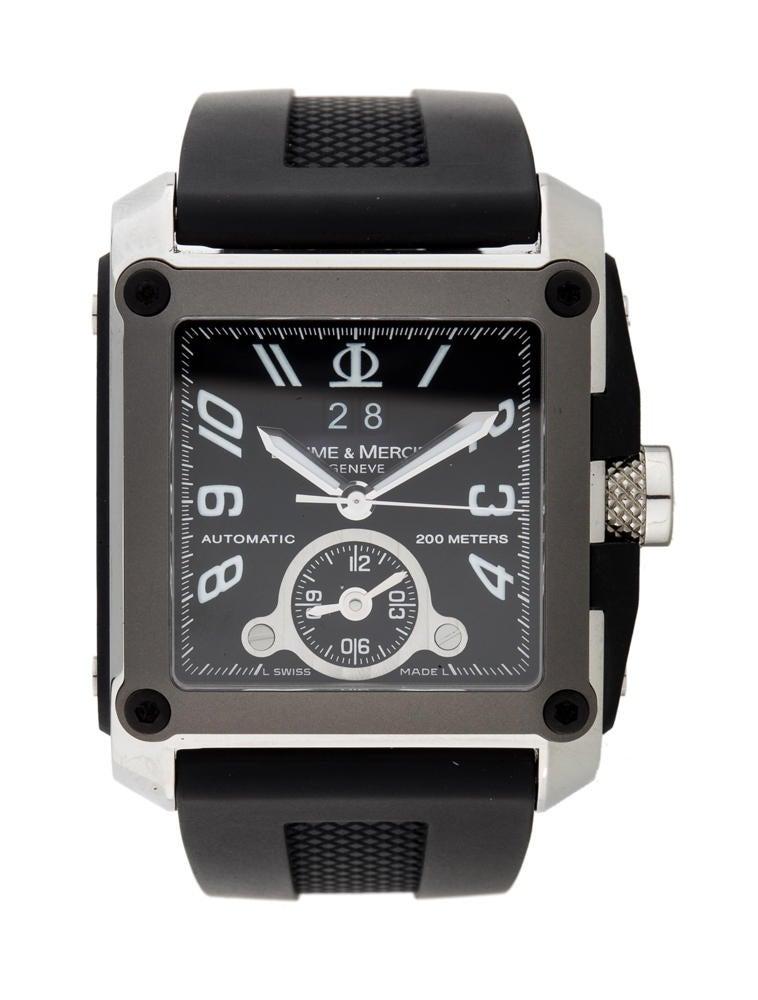 Baume & Mercier Hampton Square Watch - Fine Watches - 0BM20023 ...