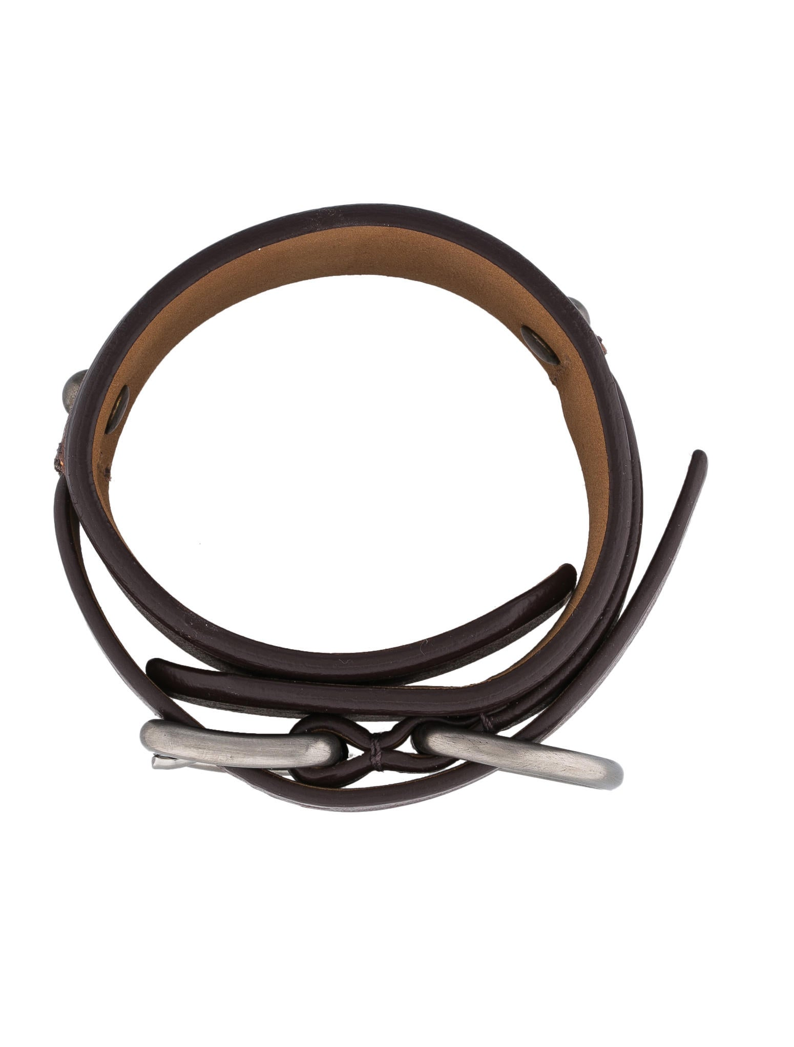 prada mini hobo bag - Prada Leather Bracelet - Mens Jewelry - 0PR21415 | The RealReal