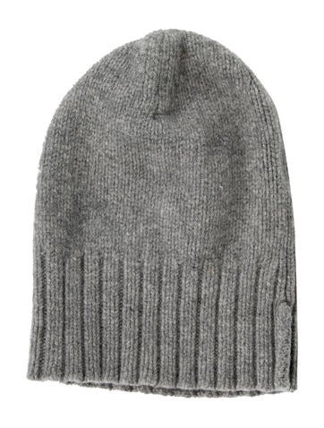 Acne Grey Wool Hat