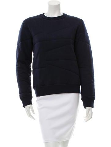 Acne Wool Crew Neck Sweatshirt None