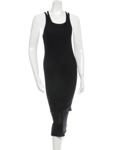 Acne Sleeveless Midi Dress None