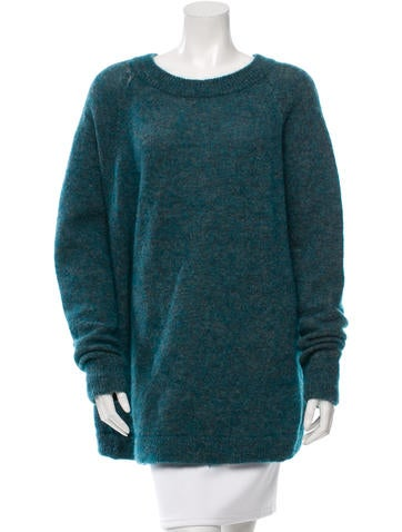 Acne Mohair & Wool-Blend Sweater None