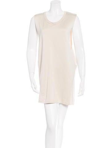 Acne Sweatshirt Mini Dress None