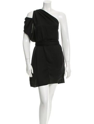 Acne Belted Mini Dress None