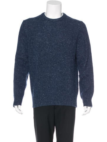 Acne Wool Crew Neck Sweater None