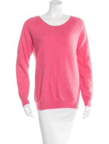 Acne Angora Bateau Neck  Sweater None