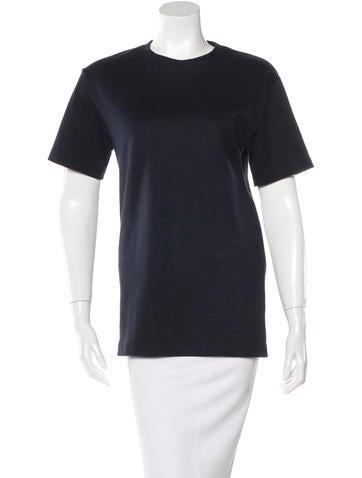 Acne Short Sleeve Crew Neck T-Shirt None