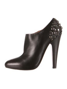 Christian Louboutin Studded Ankle Boots - Shoes - CHT43513 | The ...