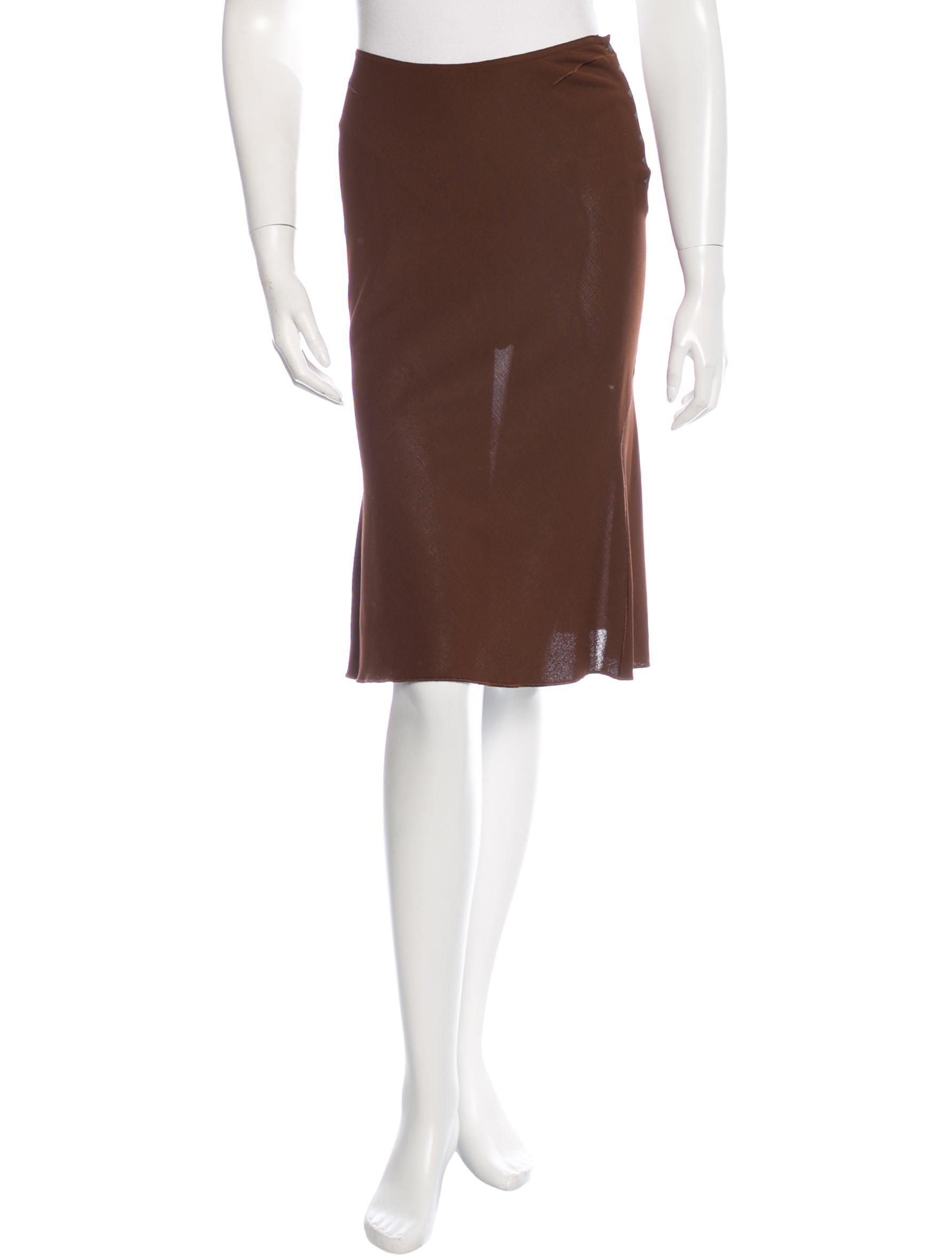 ala 239 a knee length a line skirt clothing al226093 the
