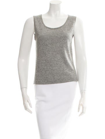 Alberta Ferretti Sleeveless Knit Top None