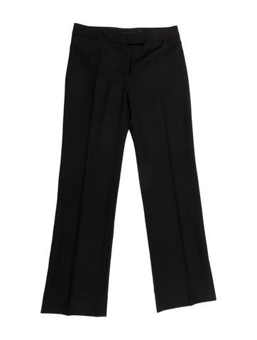 Alexander McQueen Wool Trousers None