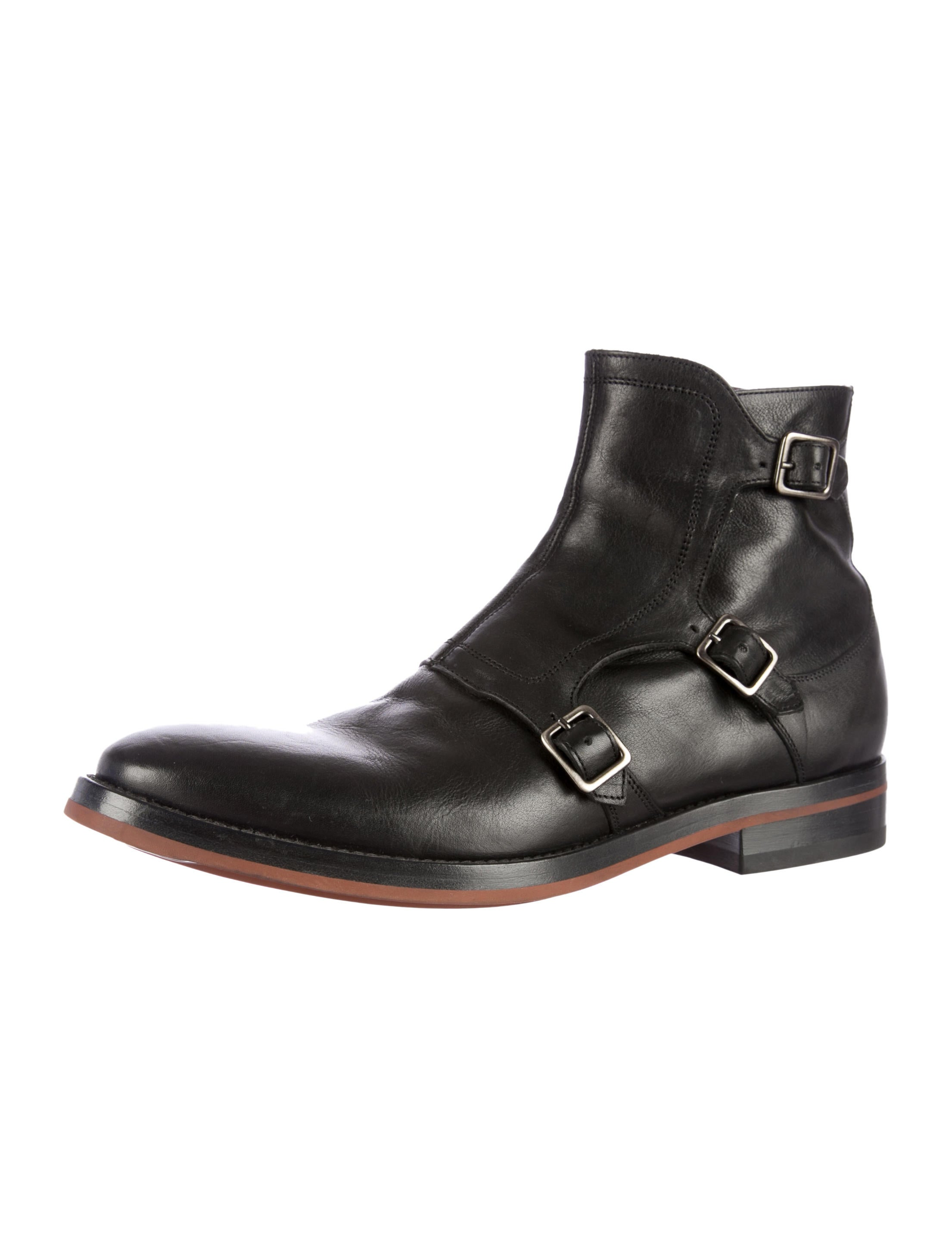 mcqueen monk chelsea boots shoes