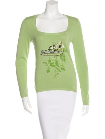 Alexander McQueen Embellished Knit Top w/ Tags None