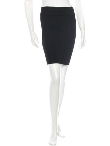 Alexander Wang Bodycon Mini Skirt None