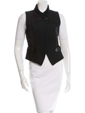 Alexander Wang Structured Wool Vest None