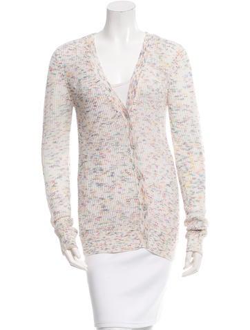 Alexander Wang Knit Button-Up Cardigan None