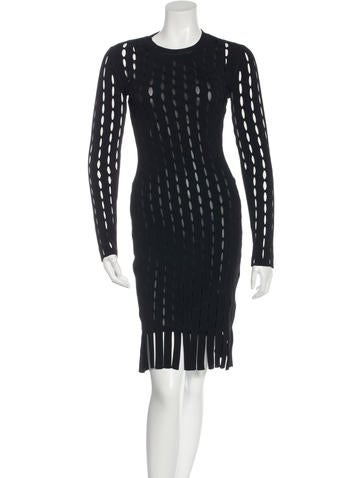 Alexander Wang Perforated Bodycon Dress w/ Tags None