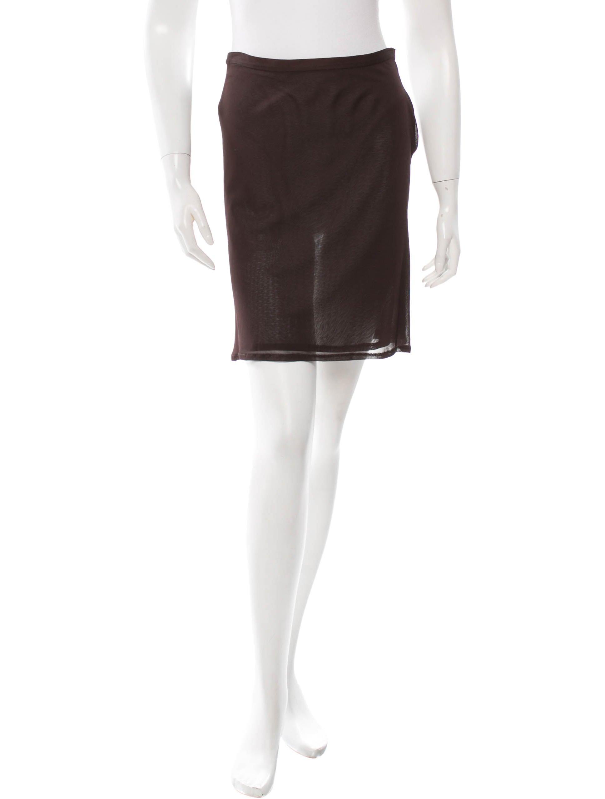 demeulemeester brown a line skirt skirts ann22285