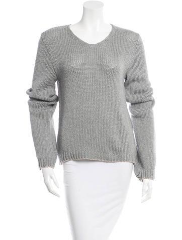 Ann Demeulemeester Rib Knit Sweater None