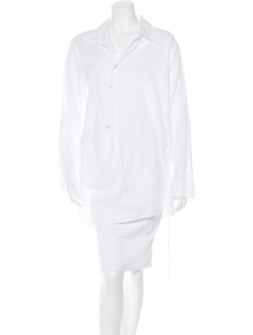 Ann Demeulemeester Oversized Button-Up Top None