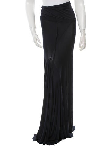 Ann Demeulemeester Drawstring Maxi Skirt w/ Tags None