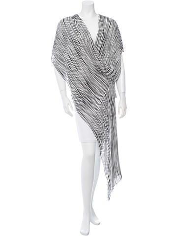 Barbara Bui Silk Striped Top None