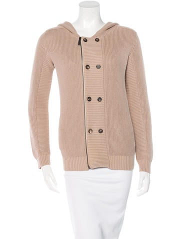 Barbara Bui Silk-Blend Knit Sweatshirt None