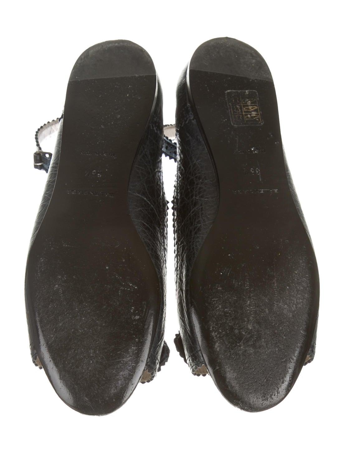 balenciaga flats shoes bal29660 the realreal