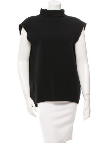 Balenciaga Wool & Cashmere-Blend Top None