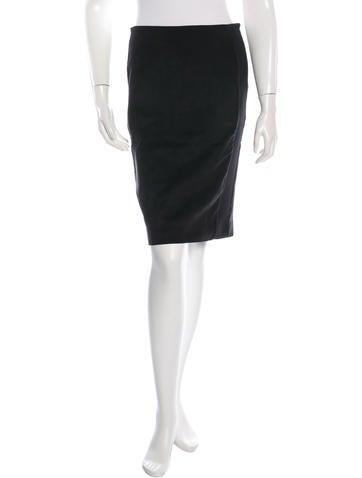 Balenciaga Tailored Pencil Skirt None