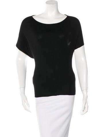Balenciaga Draped Silk Top None