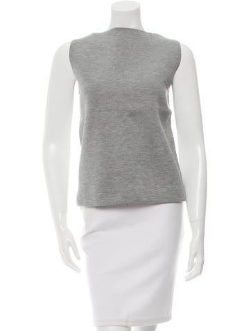 Balenciaga Stretch knit Sleeveless Top None