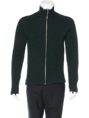 Balenciaga Wool Zip Sweater None