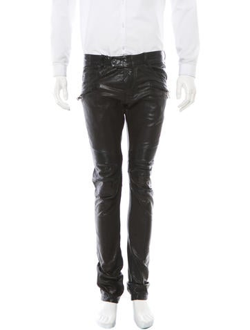 Balmain Leather Pants w/ Tags