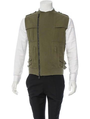 Balmain Rib Knit Vest None