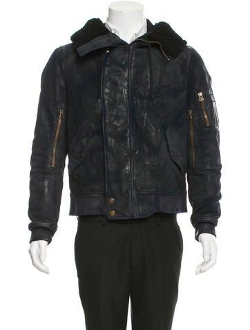 Balmain Coated Distressed Jacket None